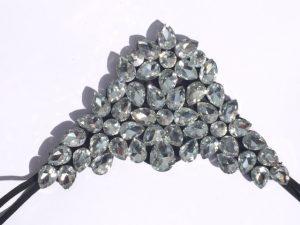 Clear crystal flexi aliceband