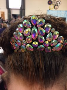 irish dancer flexi headband