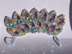 ab crystal flexi tiara medium